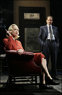 Playbill brief encounter with yvonne strahovski golden boys strahovski and danny mastrogiorgio in golden boy fandeluxe Gallery